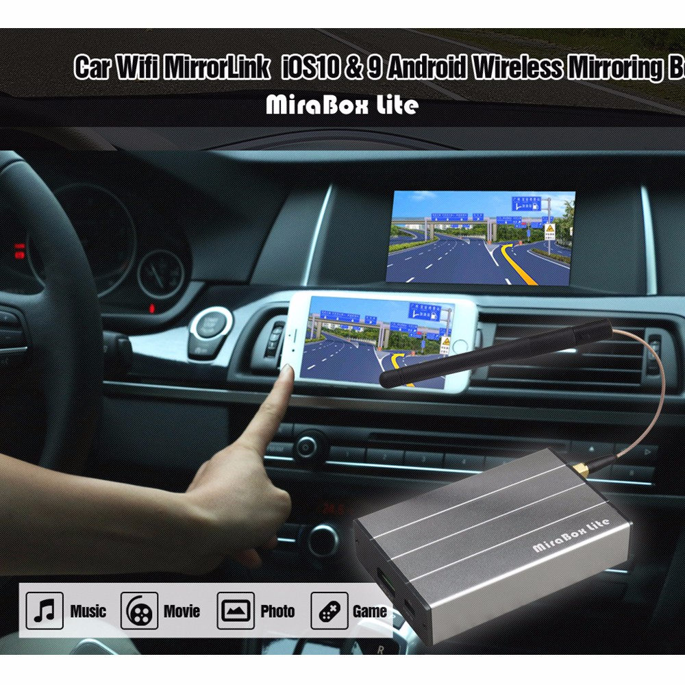car video interface smart mirror cost-down solution