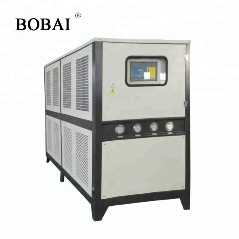 water cooled chiller movable type of box body in shanghai china
