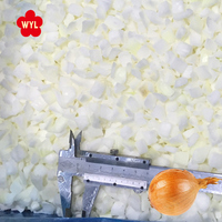 2018 Crop 10*10mm Organic IQF Frozen Diced Onion