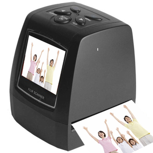 2016 negative 35mm film scanner with 2.4'' color display