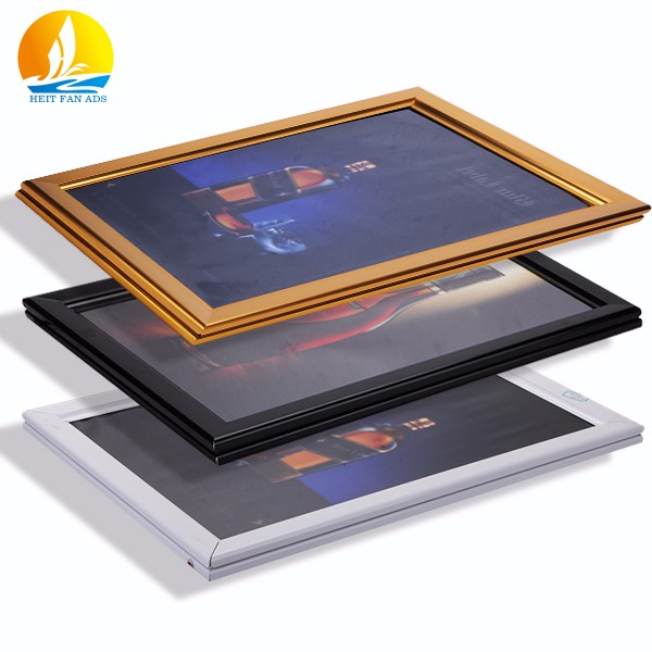 2016 most popular light box displays custom size super slim led light box