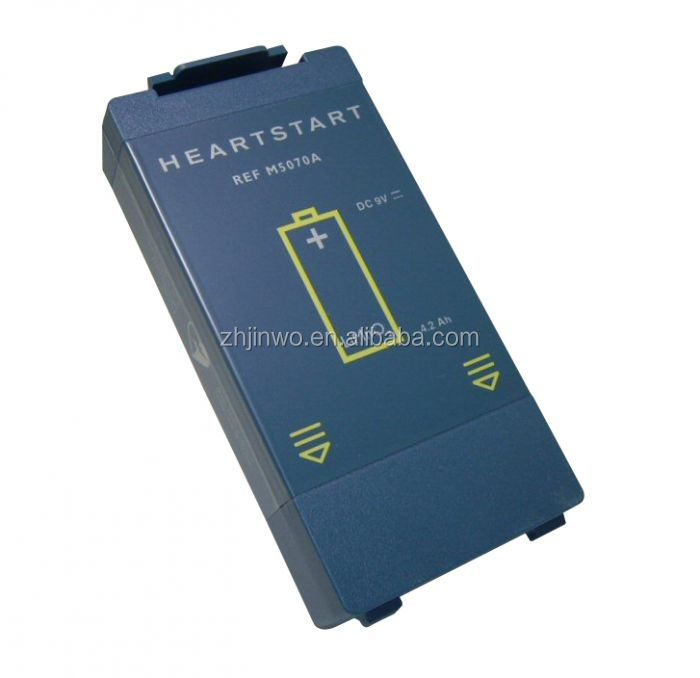 JINWO HeartStart AED M5070A Defibrillator Battery for  Home OnSite FRX AED Battery