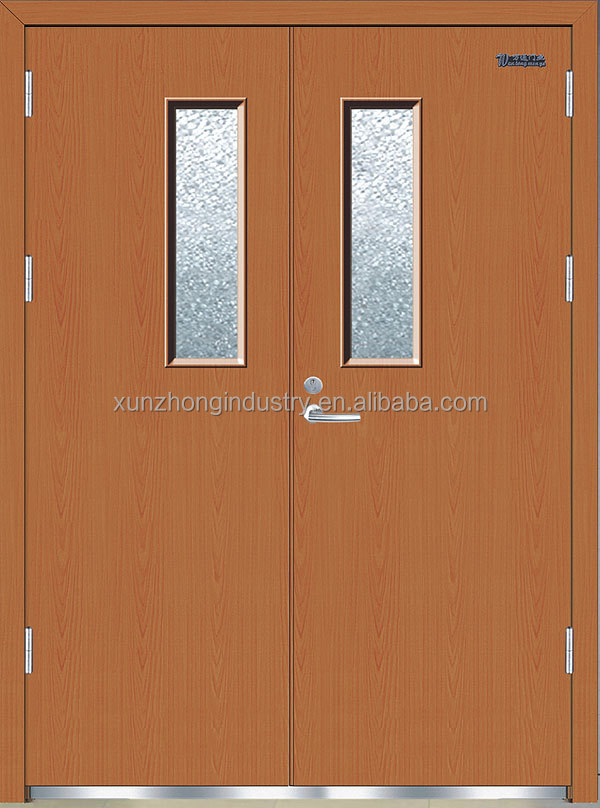 UL fire doors,Steel Fire Rated Door with Glass Vision, Fire-Resistance door for sale