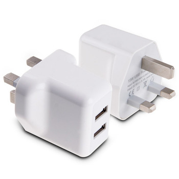 2-Port New UK Plug USB Wall Charger Phone Chargers