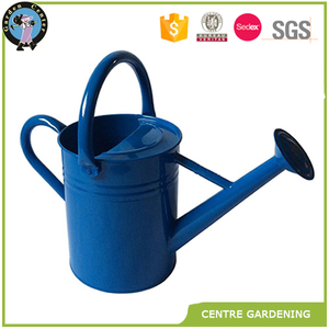 Colour Design Cheap Colour Metal Glavanized zinc Watering Can 4L 0.8Gal