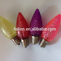 120v led c7 & c9 led bulbs FACTORY SELL certificate LED C7 holiday bulbs Rich colors can choose