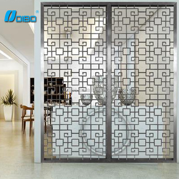 Metal Room Divider Decorative Restaurant Wall