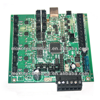 Rambo Board V1.2a Support Dual Extruder For Reprap Prusa Mendel Dualstrusion on