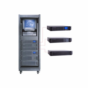 2018 6K 10K Rack Mount High Frequency Online UPS PWM Technology with IGBT