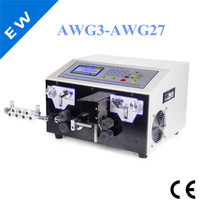 EW05C pvc coated iron wire stripping machine