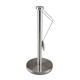 Stainless steel kitchen roll holder simplytear standing tension arm paper towel holder