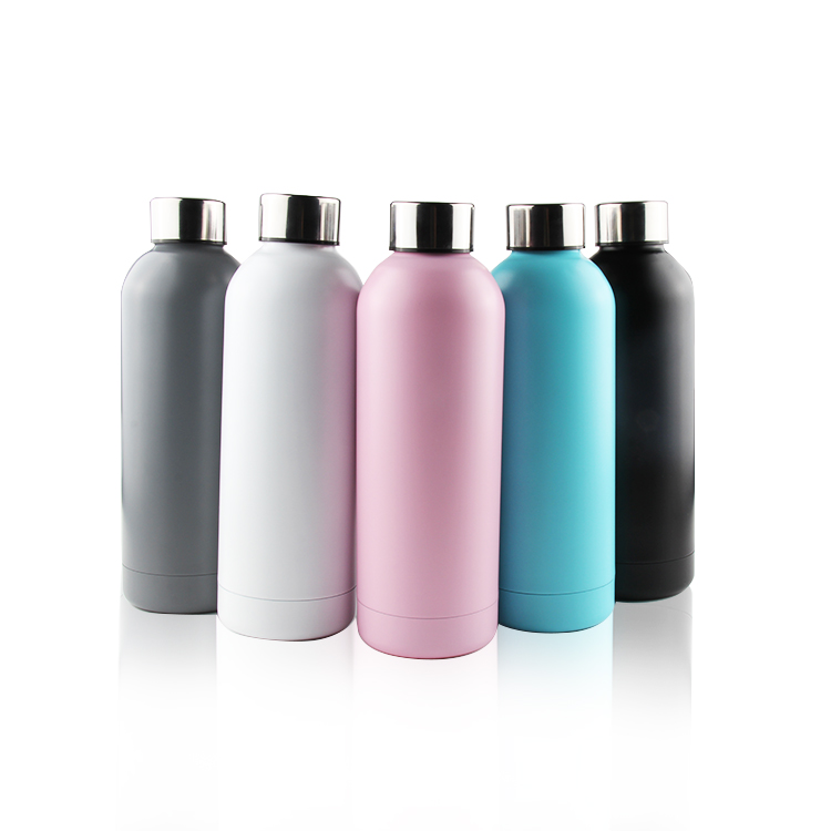 Wholesale Portable Double Wall Stainless Steel Water Bottle 1/2 Litre