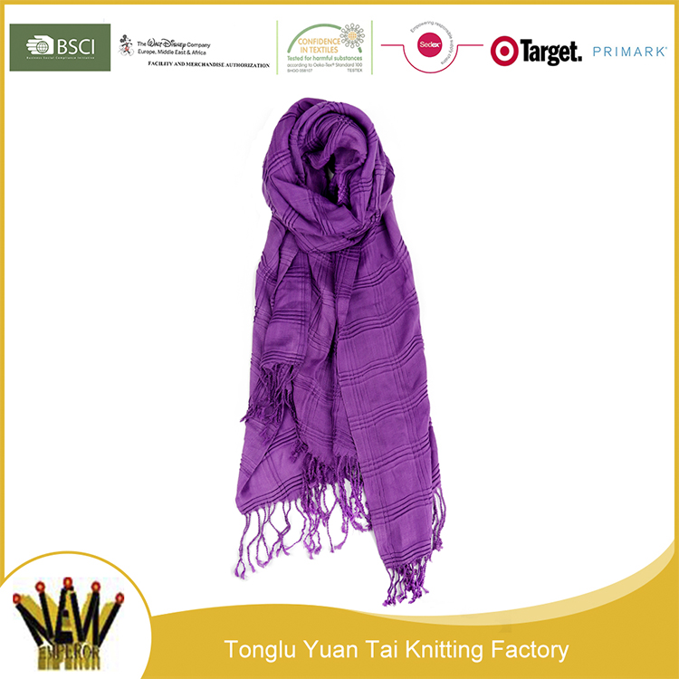 Low cost factory pashmina scarf korea cashmere