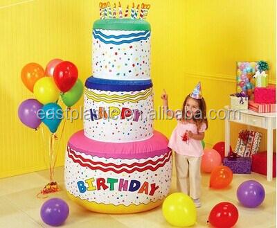 Giant Birthday Cake Inflatable
