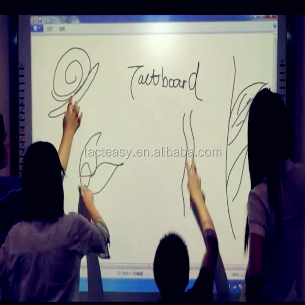 WIfi Wireless IR Infrared Multitouch Interactive Whiteboard with Speaker & Microphone SMART BOARD