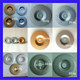 For Power Tools grinding Glass diamond brazed diamond grinding disc for glass