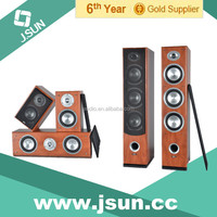 2015 Stereo sound passive 5.0 home theater music system