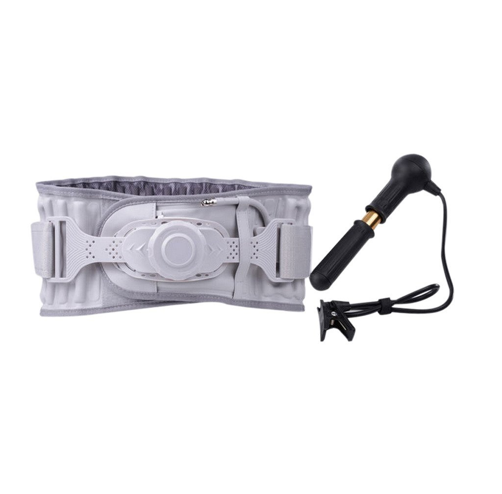 Halovie Back Decompression Belt Waist Lumbar Relief Brace Spinal Air Traction Physio Back Pain Relief Health Care Gift