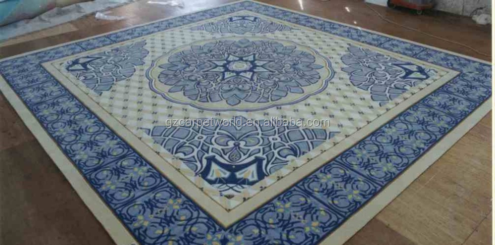 Top grade hand knotted rugs with SGS fireproof certificate