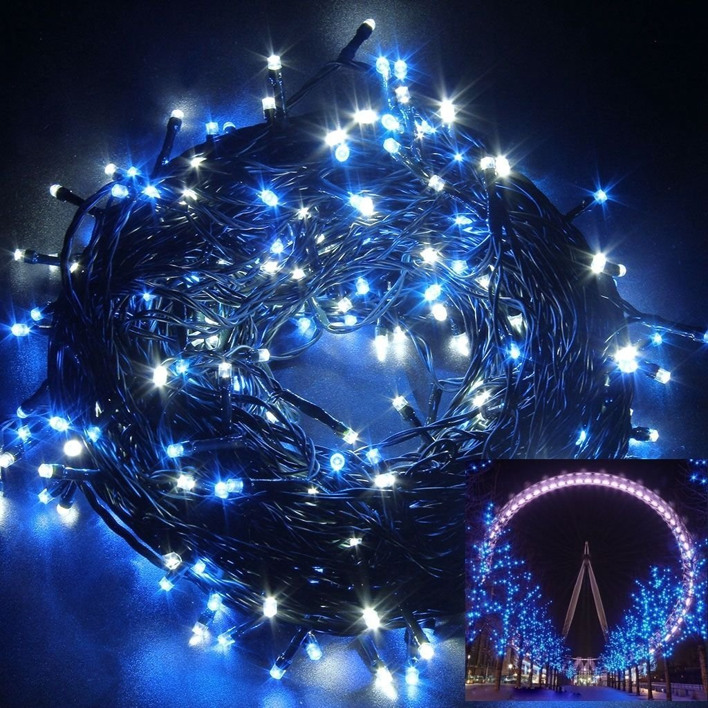 usa warehouse 250 led 50m string fairy lights christmas xmas party wedding garden decor