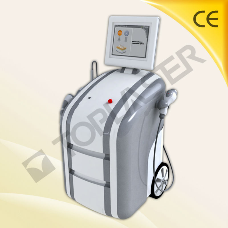 2014CE approved hot tripolar rf+cavitation+vacuum cavitation slimming machine