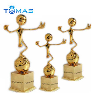 Hot sale golden metal sports trophy cup,New design metal trophy cup,awards and trophies