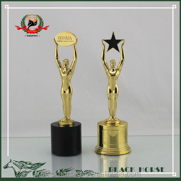 High Quality With Custom Wooden Trophy DesignsElectroplating Metal