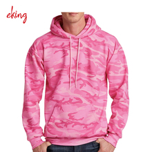 Sublimatie Roze <span class=keywords><strong>Camo</strong></span> Hoodie Trui Heren Col Zonder Geribbelde Bodem Leeg <span class=keywords><strong>Camo</strong></span> Hoodie