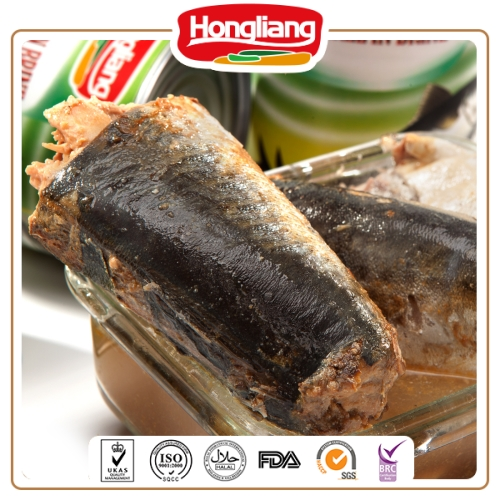 Good quality canned mackerel fish in oil
