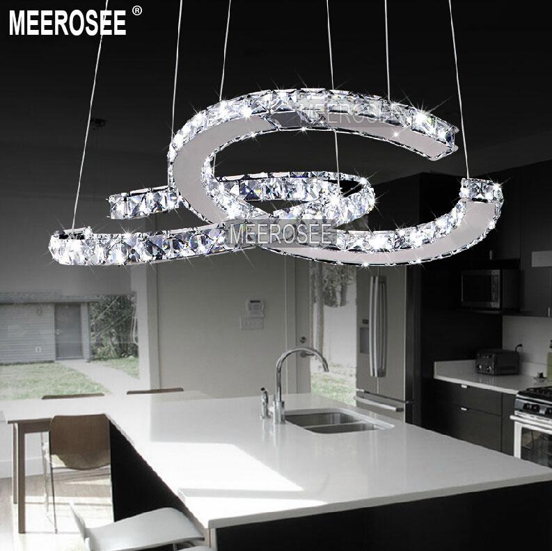 circle ring c shape chandelier led pendant light top. Black Bedroom Furniture Sets. Home Design Ideas