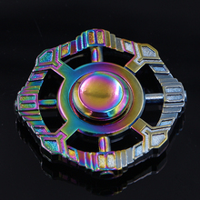 Sanke 2017 Rainbow colorful spinner cool ball bearing fidget spinner toy for adults