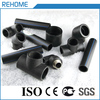 Why we all choose black plastic water supply hdpe pipe fittings