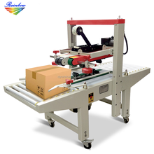 Factory price automatic adhesive tape carton box sealing machine