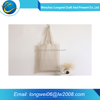 2016 blank cotton canvas tote bag