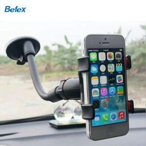 Hot Sale Factory Price Anti-slip Clip Car Mobile Phone Holder,360 Degree Rotation Sucker Cell Phone Holder for Car