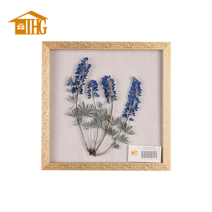 Affordable Price Material Benefit Flower Glass Wall Art Decor