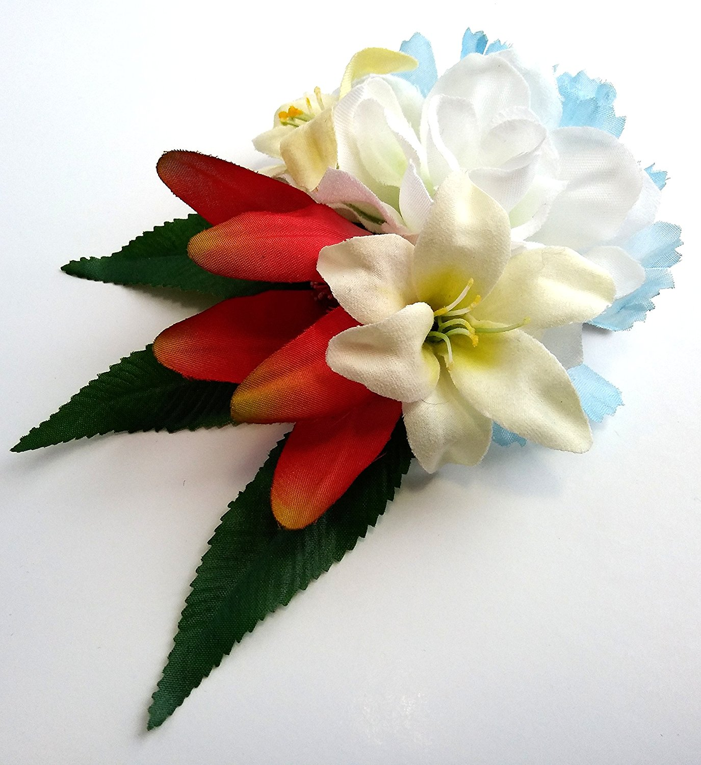 Cheap white flower gardenia find white flower gardenia deals on get quotations gardenia and red passion flower hair flower clip izmirmasajfo