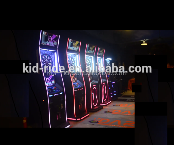Indoor Play Area Amusement Park Online Dart Game Machine Coin Operated Electronic Dart Machine Streel Frame