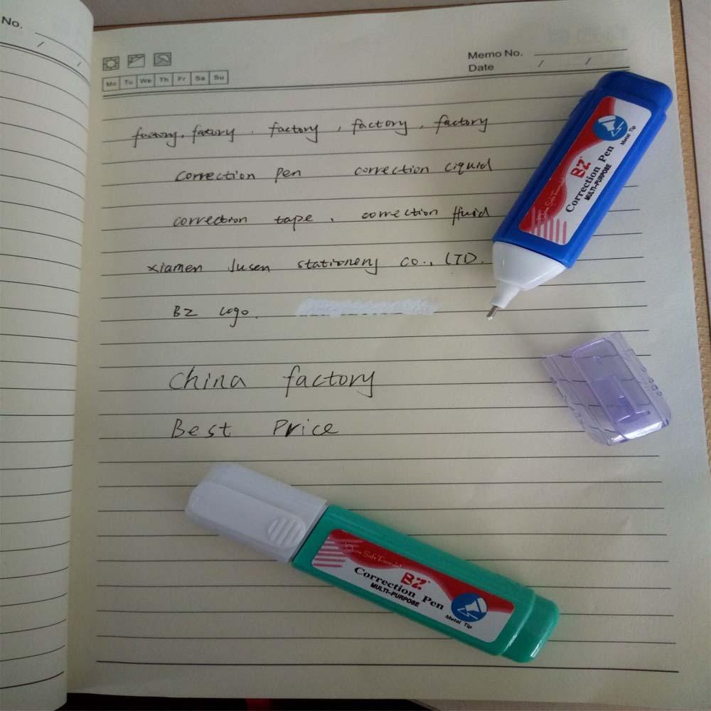 Белый из жидких бумаги коррекция ручка