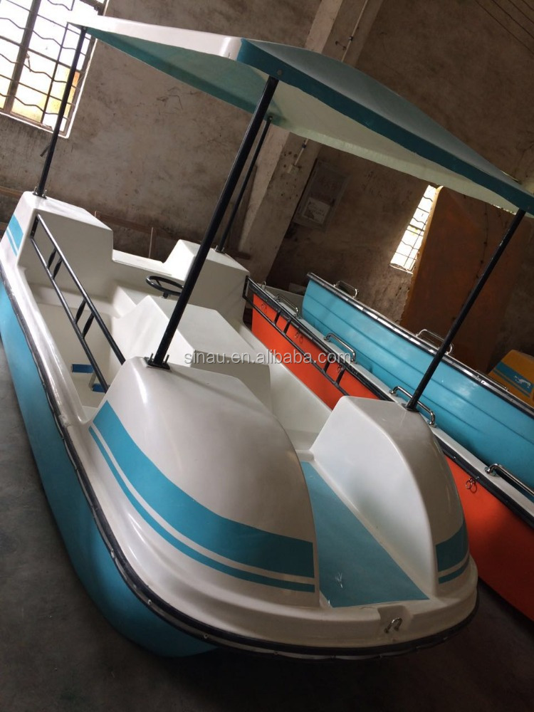 2016 luxurious pedal boat/ adult pedal boat/ paddle boat for water