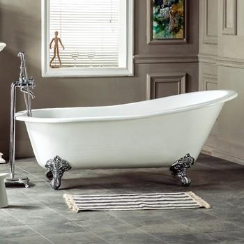 Dog Grooming Freestanding Used Cast Iron Bathroom Bathtub Price With