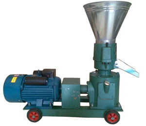 HT-200 feed pellet machine small fish food extruder(Diesel electric dual purposes)
