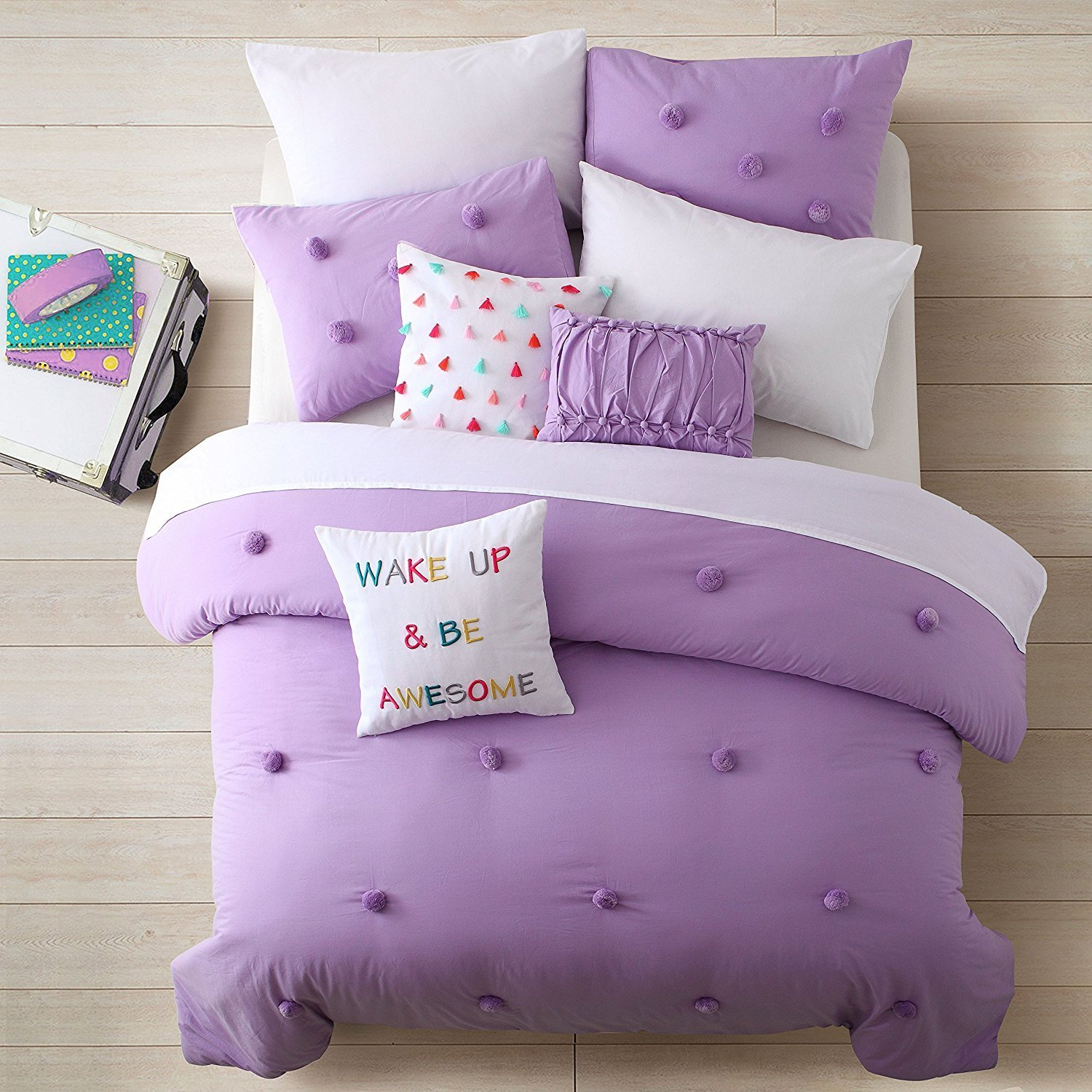 Awesome teen bedding