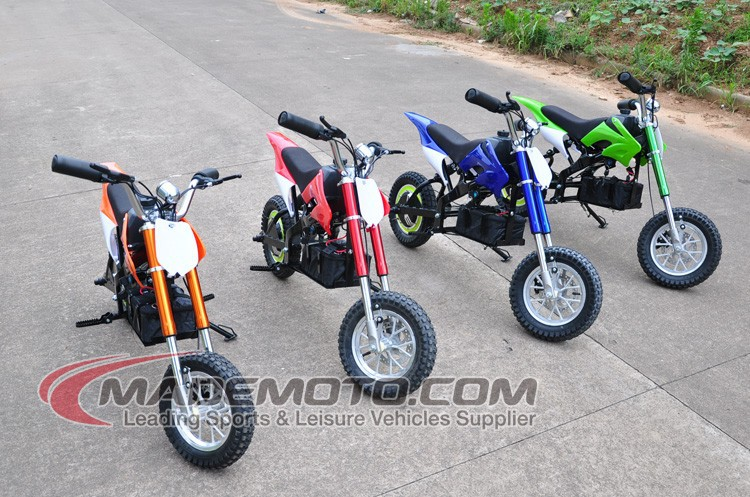 High quality full suspension kids electric quad dirt bike for 200w