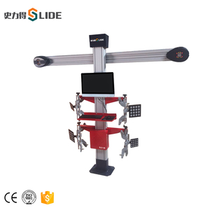SLIDE-56 newest technology 3D price of wheel alignment machine