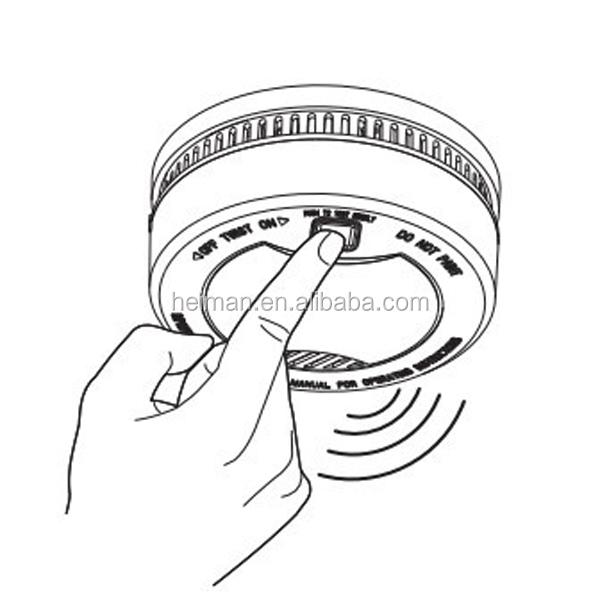 Micro Smoke Alarm Heiman New Product Residential Smoke Detector With