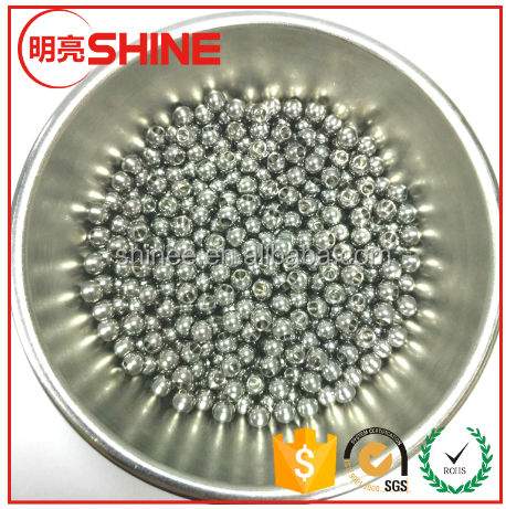 High polished stainless steel ball/bead for machine parts
