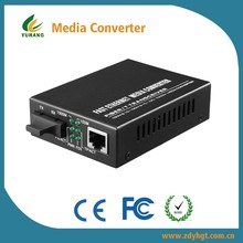1000M utp port Fiber Optic to Cat.5 Media Converter 5v