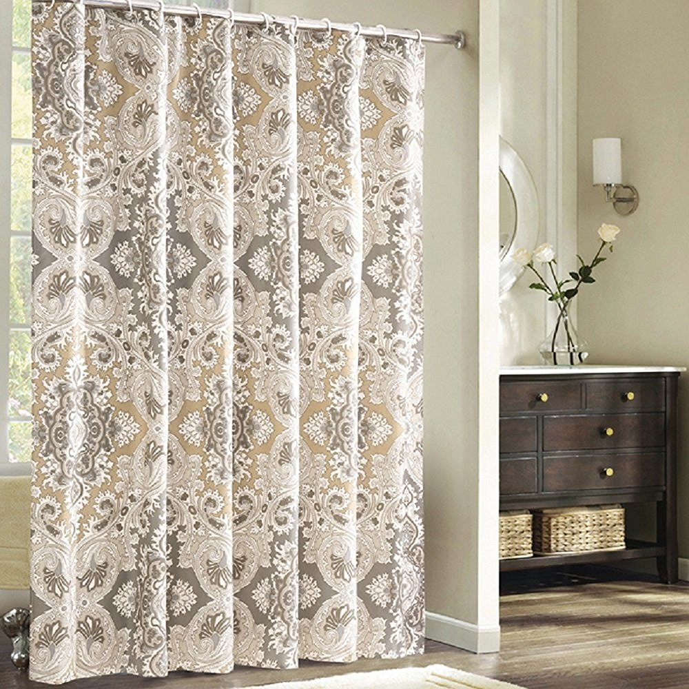Pattern Extra Long Shower Curtain