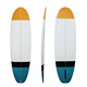 Wholesales high quality PU top foam surfing board OEM brand